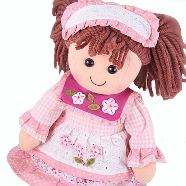 custom plush rag dolls cloth doll manufacturer