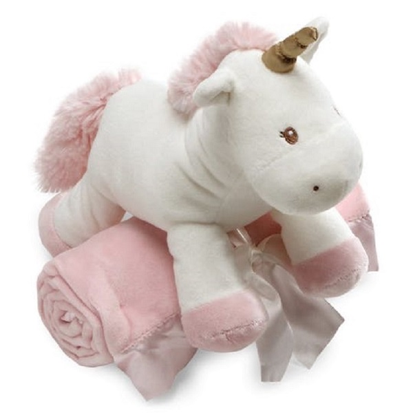 Wholesale China custom plush soft unicorn toy blanket personalized stuffed toy blanket