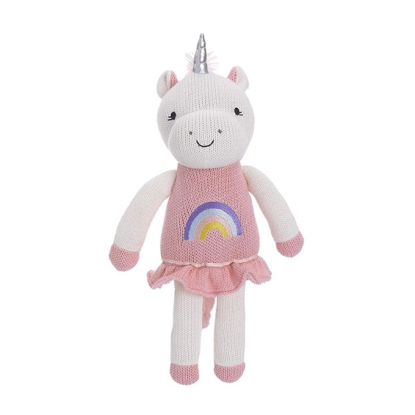 custom top quality Crochet Unicorn cotton soft knitted toy