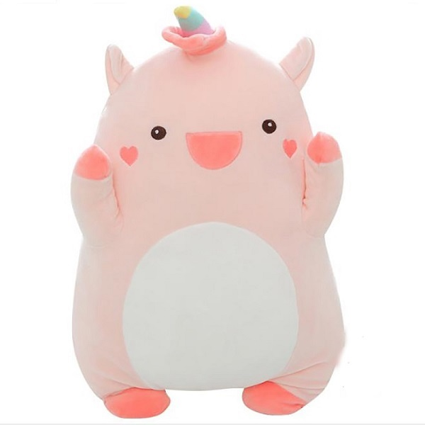 custom toy design stuffed squishmallow plush unicorn animal cushion